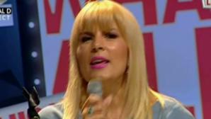 MOMENT INEDIT: Elena Udrea a cântat LIVE într-o emisiune de televiziune