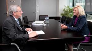Corina Creţu, audiată de Jean Claude Juncker