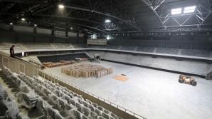 Sala Polivalentă din Cluj, finalizată după patru ani. Boc: E o adevărată bijuterie