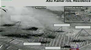 Imagini cu efectele atacurilor împotriva Statului Islamic, date publicităţii de Pentagon