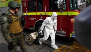 Explozie la metroul din Santiago de Chile