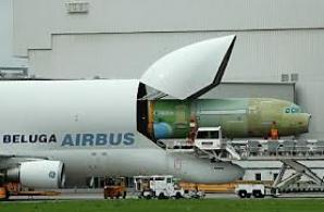 Beluga, cel mai ciudat avion din lume