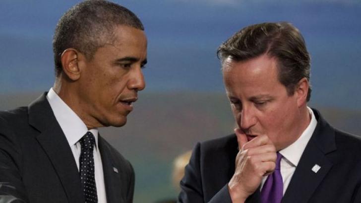 Cameron, lăsat cu mâna întinsă de Obama