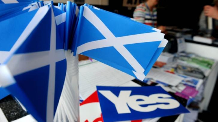 Vot istoric în Scoţia