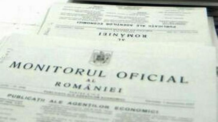 ORDONANŢA TRASEIŞTILOR, PUBLICATĂ în Monitorul Oficial. MIGRAŢIA PRIMARILOR, LEGALĂ