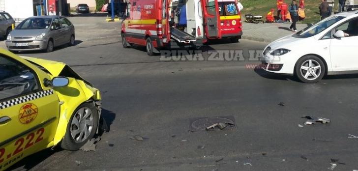 ACCIDENT cu două VICTIME, provocat de un taximetrist BEAT