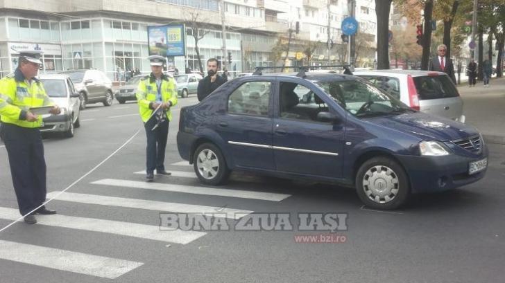ACCIDENT CUMPLIT în Iaşi: fetiţă spulberată pe trecerea de pietoni de UN PREOT / Foto: bzi.ro