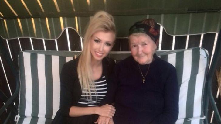 Andreea Bălan și bunica