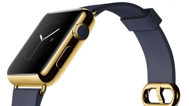 Apple Watch din aur.