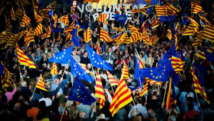 REFERENDUMUL pentru INDEPENDENŢA Cataloniei, ILEGAL