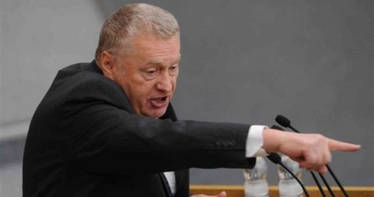 Jirinovski iese din nou la atac