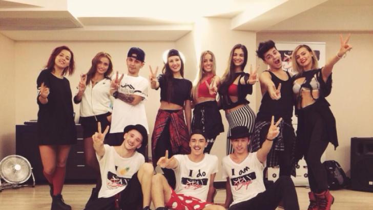 VOCEA ROMANIEI. Noua echipă de dansatori de la VOCEA ROMANIEI.