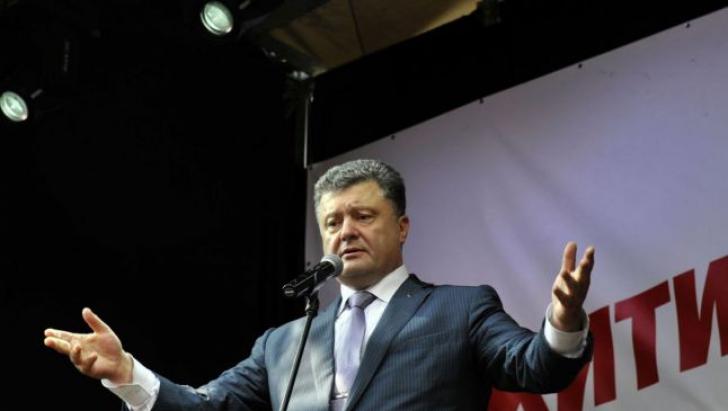 Poroșenko, surprins de solidaritatea pe care Europa o manifestă  față de Ucraina