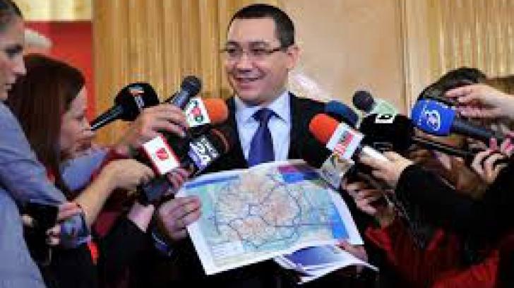 Marile proiecte de infrastructură, îngropate după 3 ani şi de guvernare Victor Ponta