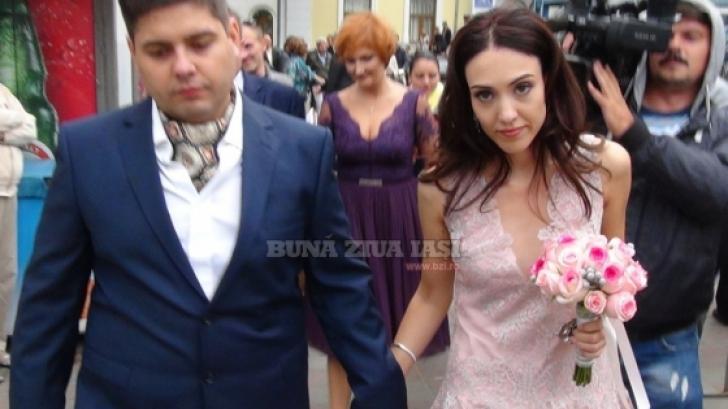 Ilinica Nichita, fiica primarului din Iași, s-a căsătorit sâmbătă. Foto: BZI