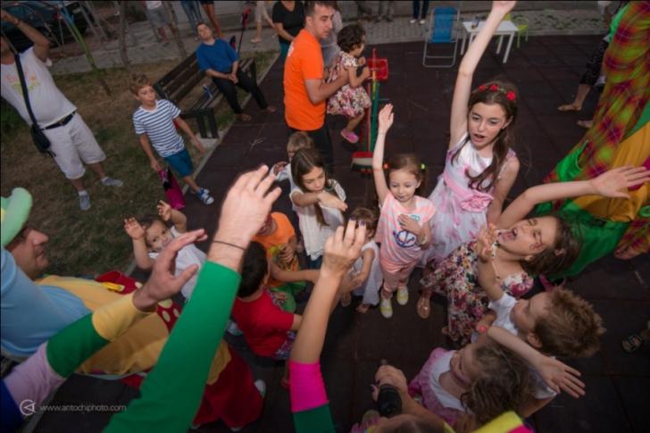 De la petrecerea Sophiei nu au lipsit personajele colorate