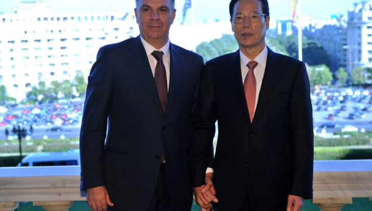 VALERIU ZGONEA, GAFĂ INCREDIBILĂ în fotografia cu vicepremierul Chinei
