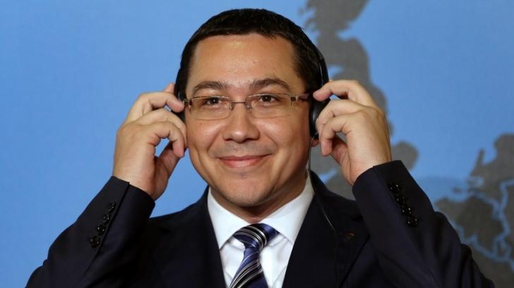 Ponta, despre 'marţea neagră' din 2013: O foarte bună operaţiune de propagandă