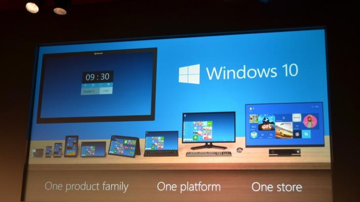 Microsoft surprinde pe toată lumea. Windows 10 face cât două sisteme de operare la un loc
