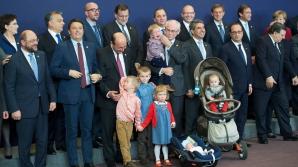 Traian Băsescu la summitul UE