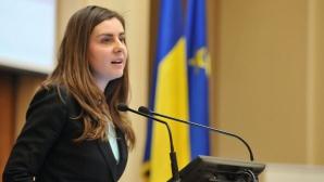 Ioana Petrescu, ministrul Finanţelor