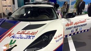 Maşina sport pe post de ambulanţă