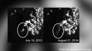 Insula misterioasă descoperită pe Titan, satelitul planetei Saturn