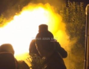 Incendiu la SFÂNTA PARASCHEVA, lângă rândul de pelerini