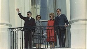 Nicolae Ceauşescu şi Richard Nixon