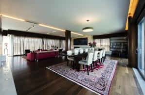 Penthouse cartierul Primaverii, 4 dormitoare, 5 băi, 210 mp terasă, 395 mp utili, 2 garaje subterane