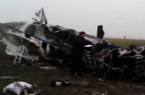 Primele imagini de la accidentul aviatic în care şi-a pierdut viaţa Cristophe de Margerie