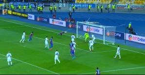 Golul marcat de Rusescu. Sursa: captură Digi