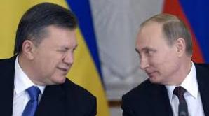 Viktor Ianukovici în momentele de glorie