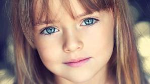 Kristina Pimenova, cea mai frumoasă fetiţă din lume, are 6 ani
