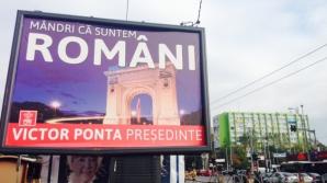 ALEGERI PREZIDENŢIALE 2014: În ţara românilor mândri, Sebastian Ghiţă îl face afiş pe Victor Ponta