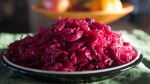 Varza roşie murată - miraculoasă pentru sănătate