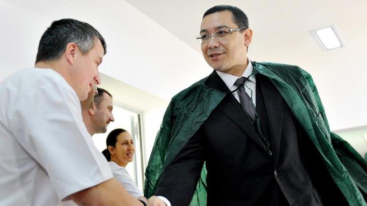 TRAIAN BĂSESCU: VICTOR PONTA a fost ofițer-acoperit al SIE în perioada 1997-2001