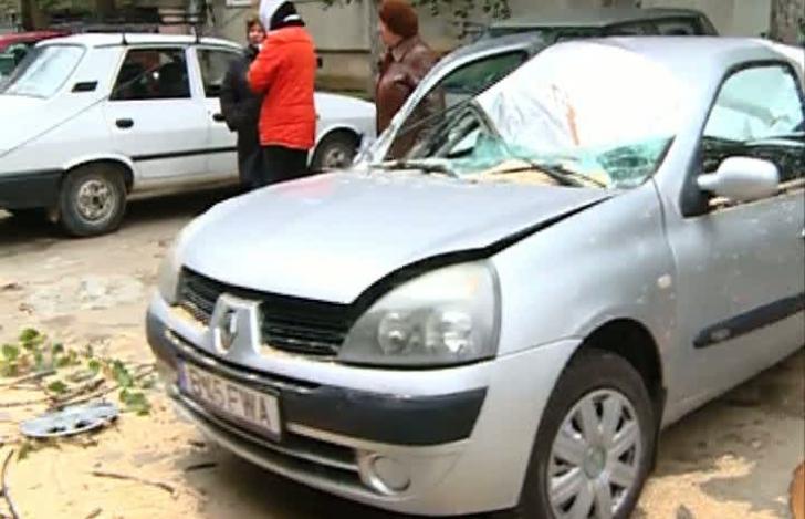 23 de mașini avariate