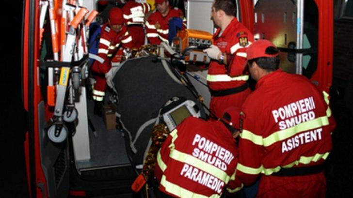 Accident GRAV în Mureș. Două persoane au fost rănite
