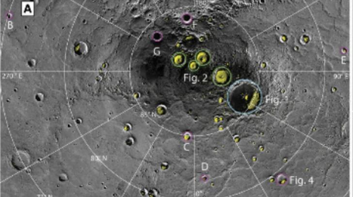 Au găsit apă pe Mercur