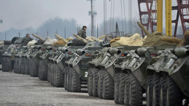 Rusia şi-a intensificat exerciţiile militare în Transnistria