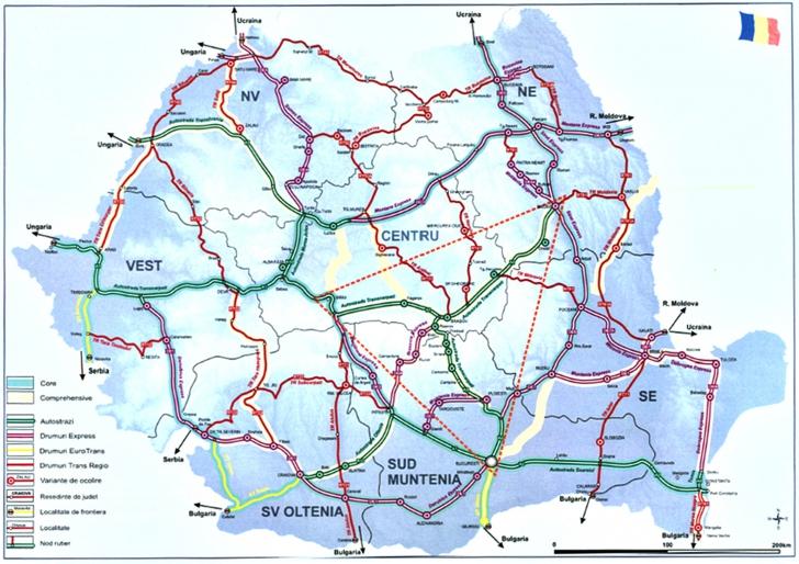 Noul Master Plan pe Transporturi, sărac în autostrăzi