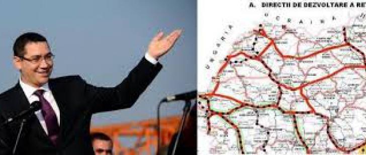 Premierul a derapat în planurile de autostrăzi