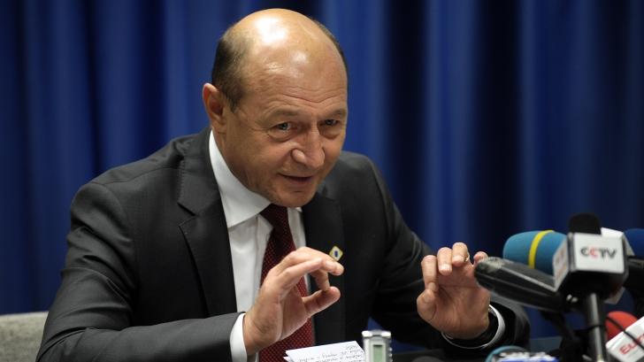 Traian Băsescu: Este evident că a fost filată Bica, nu Udrea