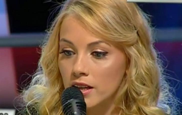 Andreea Ibacka, in lacrimi