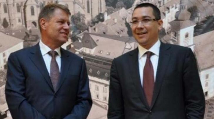Victor Ponta: IOHANNIS va fi declarat INCOMPATIBIL