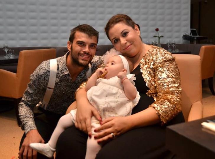 Oana Roman si familia