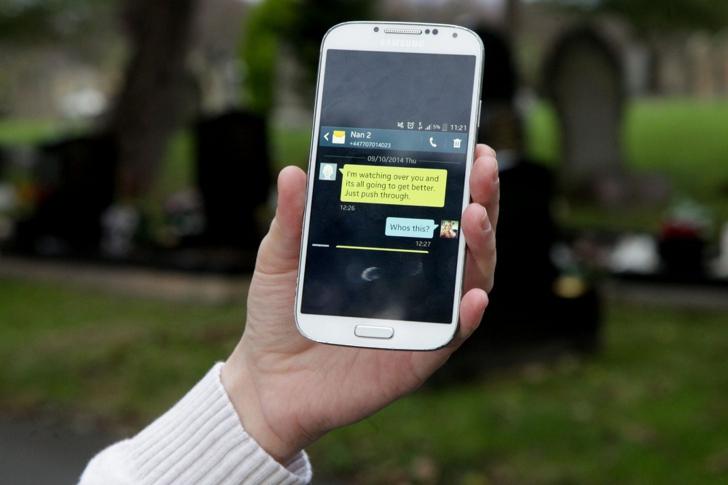 SMS-ul primit, care a îngrozit familia de britanici