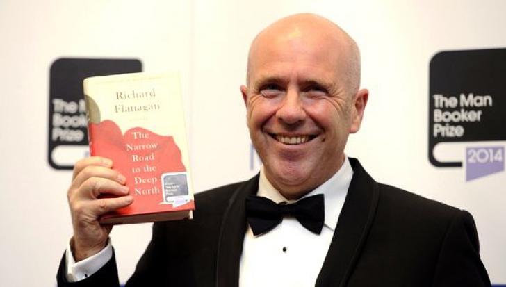 Scriitorul australian Richard Flanagan, câştigătorul Man Booker Prize 2014