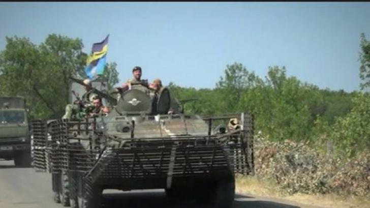 Tiruri de ARTILERIE la Donețk, după două zile de liniștite